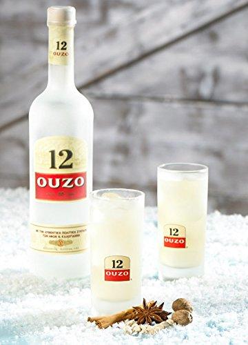 Ouzo 12 - Das griechische Original Anisgeschmack, 700ml - 4