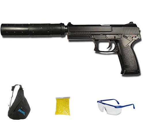 M23 Pistola USB - Pistola de Airsoft Calibre 6mm (Arma Aire Suave de Bolas de plástico o PVC). Sistema: Muelle. <3,5J
