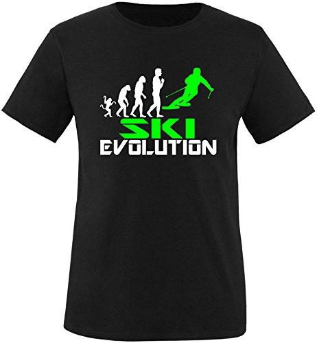 EZYshirt® Ski Evolution Herren Rundhals T-Shirt