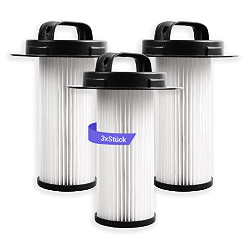 3 filtros Hepa para aspiradora Philips 432200524860 FC8048 FC6083 FC6085 H12, sin bolsa