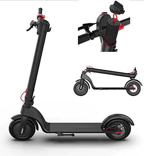 Scooter eléctrico para adultos,plegable barato Scooter eléctrico para adultos 20 mph, accesorios para todoterreno extraíble y cargador, pantalla LCD 3 modos de velocidad de 8.5 pulgadas