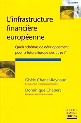 L'infrastructure financière européenne: Quels schémas de développement pour la future Europe des titres ? (Marchés finances)