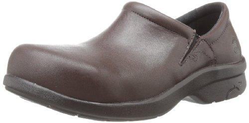 Timberland PRO Women's Newbury ESD Work Shoe,Brown,9.5 W US