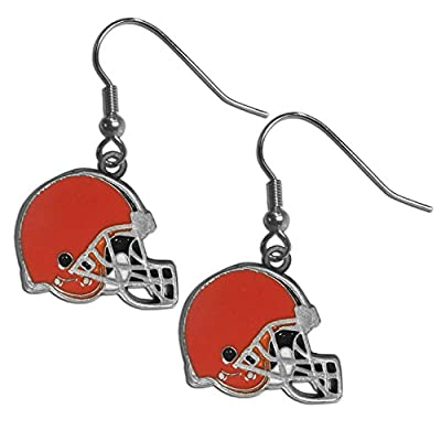 NFL Cleveland Browns Dangle Earrings