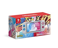 Featuring two new Legendary Pokémon from the upcoming Pokémon Sword and Pokémon Shield games Optimized for personal, handheld play, Nintendo Switch Lite is a smaller and lighter Nintendo Switch system Enjoy the great handheld experience of Nintendo S...