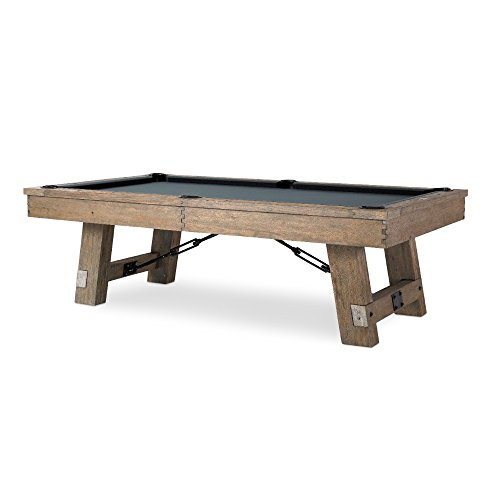 Find Bargain Plank & Hide Isaac 8 Foot Pool Table - Rustic Billiard Table with All Accessories – G...