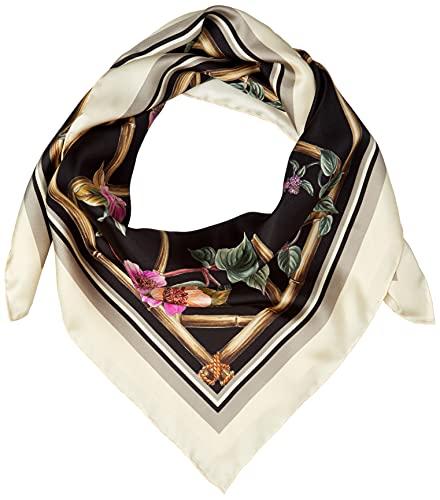 [フルラ] スカーフ FURLA TORTONA CARRE' 90X90 レディース NERO (4401-O6000)