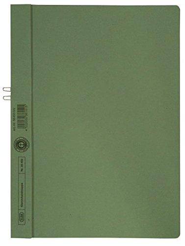 Klemmhandmappe, Karton, A4, Füllvermögen (Blatt) 10Blatt, 250g/qm, grün