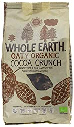 Cocoa crunch is totally organic and totally tasty Chocolaty clusters of oats and rice Best for crunchy breakfast bowl Good to share with family