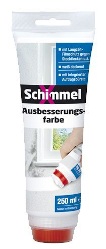 SchimmelX Ausbesserungsfarbe 250 ml weiß