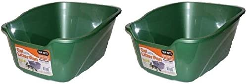 2 Pack Van Ness Large Denver Mall High Pan Assorted Colo Popular brand in the world Litter Cat Sides