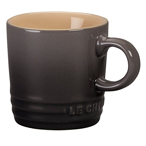 Le Creuset Stoneware Espresso Mug, 3 oz., Oyster