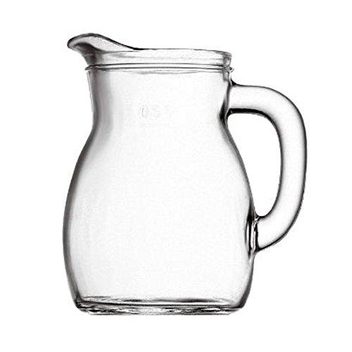 Bormioli Bistrot Carafe à décanter pour vin eau boissons, capacité 25 cl 1/4 L