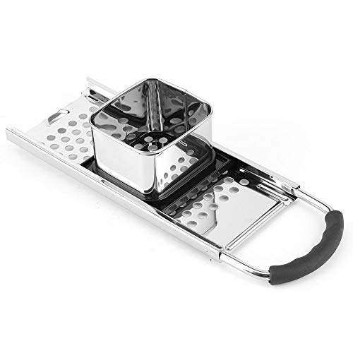 Stainless Steel Grater, Ergonomic Potato Scraper, Detachable Peeler, Chopper, for Kitchen Cooking Tool Vegetable Potato