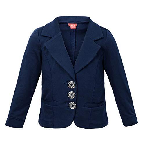 La-V La-V Mädchen Jacke mit Taschen Navy/Größe 164/170