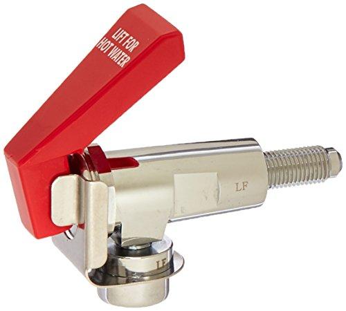 Bunn 12915 Chrome Hot Water Faucet for Bunn-O-Matic Coffee CWTF, 1/4 m Flare