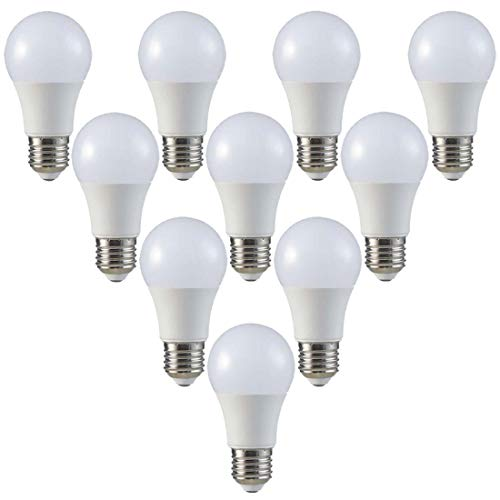 ZONE LED SET - LED Birne - E27 - A60-9W - Warmweiss (2700K) - 806 Lm - Entspricht 60W - Abstrahlwinkel 200° - 10-er Pack