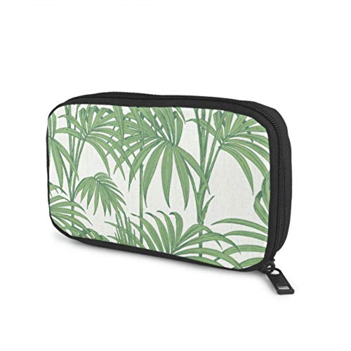 Electronics Organizer Travel Julien Macdonald Honolulu Hintergrundbild Palm Green Small Cable Organizer Für Verschiedene USB-Kabel Kopfhörer-Ladegerät Travel Office Electronics Organizer Bag