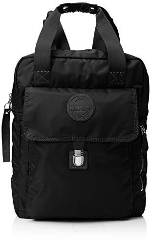 Dr. Martens Unisex-Adult Large Nylon Backpack Backpack Black (Black)