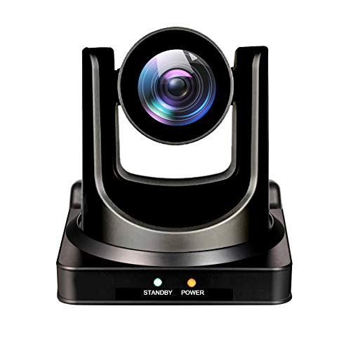 Minrray 20X-NDI Broadcast and Conference Full HD PTZ Camera UV510 for Live Streaming (NDI | HX 4.0) (Silver Gray)