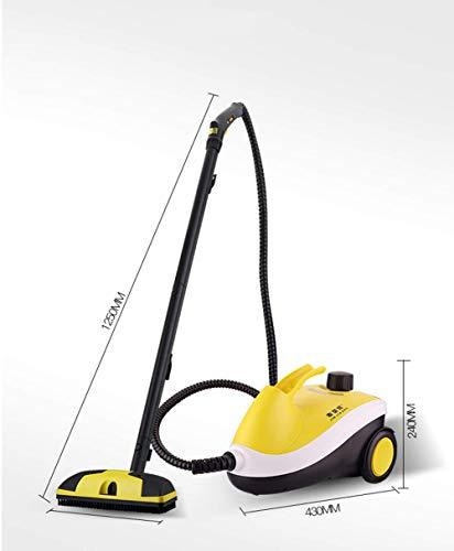 WYJW Limpiador a Vapor Fregona Limpiador a Vapor Multiusos para Eliminar Manchas, Control de chinches, alfombras, Asientos de Coche
