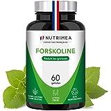 FORSKOLINE pure 500 mg/j - Brûle graisse 100% naturel – Coupe-faim - Aide à la...