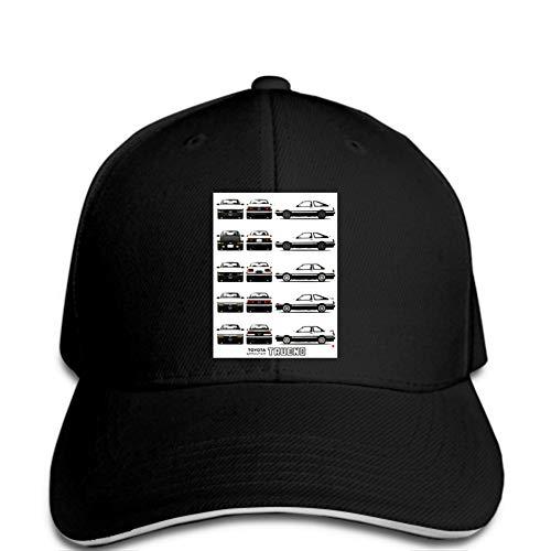 Impresión de Gorra de béisbol Hombres Gorra de béisbol Sprinter Fashion Funny Hat Novedad Snapback Mujeres