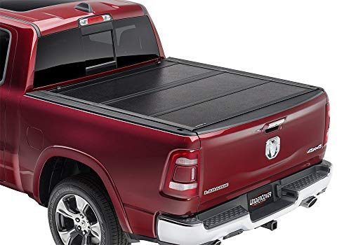 Undercover Ultra Flex Hard Folding Truck Bed Tonneau Cover | UX32008 | Fits 2019-20 New Body Style Dodge Ram 1500, Does Not Fit With Multi-Function (Split) Tailgate 5'7' Bed