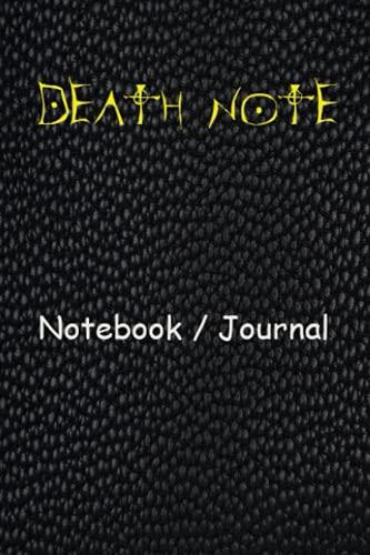 Death Note Notebook / Journal: death note manga, death note notebook with rules,death note manga box set