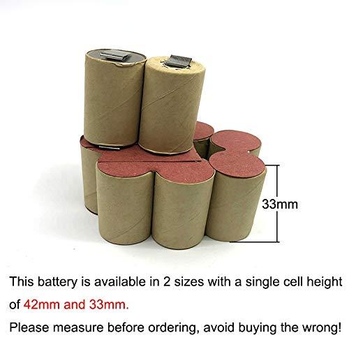 4/5SC for SNAP-ON 12V 3000mAh Ni MH Battery Packs IMPACT WRENCH CTB3124 Rebuild Batteries