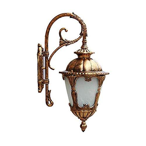 Rindasr wandlamp voor buiten, huisdeur, tuin, garage, terras, brons, afgewerkt waterdicht, outdoor-buitenverlichting, wandlamp