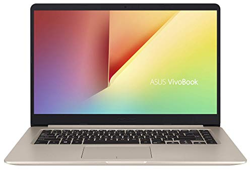 "ASUS Vivo Book S510UA-BR249T - Ordenador Portátil de 15.6"" HD (Intel Core i3-7100U, 8 GB RAM, 256 GB SSD, Intel HD Graphics, Windows 10 Home) Dorado - Teclado QWERTY Español"