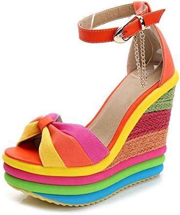Colorful wedge heels _image0