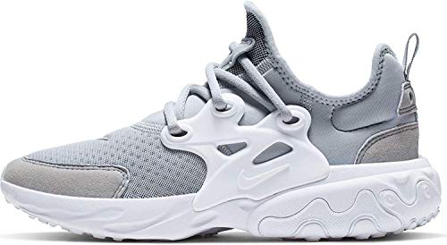 Nike Jungen React Presto (gs) Leichtathletikschuhe, Grau (Wolf Grey/White 2), 38 EU