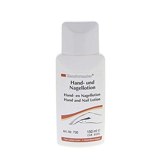 Handwunder Hand- und Nagellotion. Schnelle Intensivpflege als nicht fettende Lotion, 150 ml