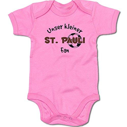 G-graphics Unser Kleiner St. Pauli Fan Baby-Body Suite Strampler 250.0493 (3-6 Monate, pink)