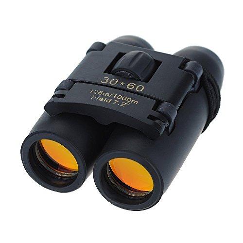 UniqueFire Mini Binocular 30x60 Zoom Faltendes Fernglas Teleskop Fernglas Außen Für Camping, Trekking, Angeln, Stellungnahmen von Vögeln
