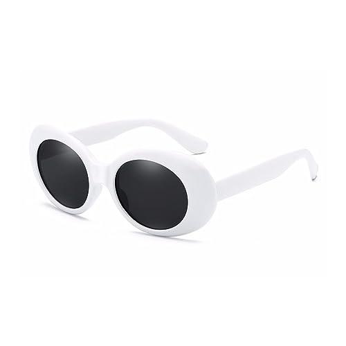 bcc30b3499 BOZEVON Retro Oval Sunglasses - UV400 Sunglasses Goggles For Women   Men
