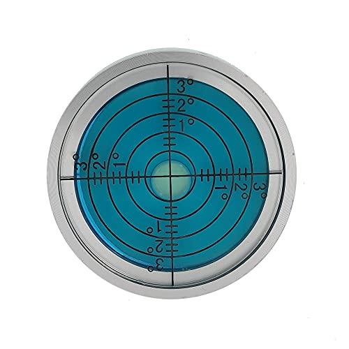 XMLEI Level fan small high precision level universal direction bubble level horizontal bead circular horizontal bubble (40mm)