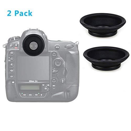 HomyWord 2 piezas ocular / visor para Nikon D810 D800 D810A D800E D700 D5 D500 D4s D4 DF...