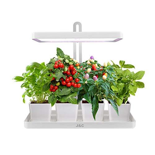 J & C Indoor LED Herb Garden Self-Watering Grow Box
