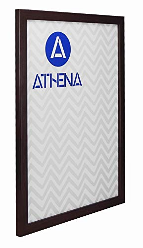 Athena dunne mahonie klaar gemaakte foto fotolijst, A3 grootte, 29,7 x 42 cm