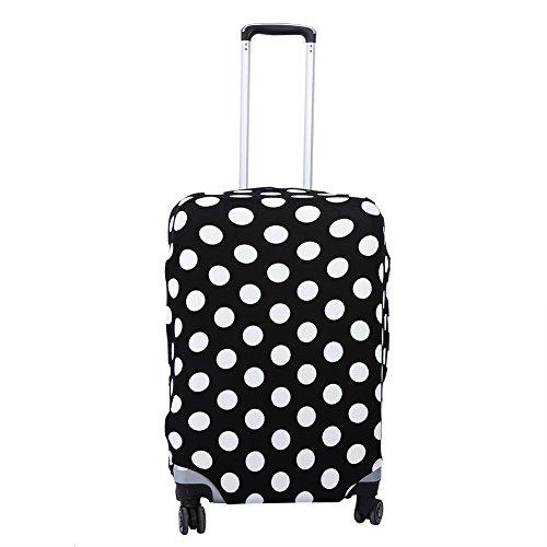 Funda para equipaje, 3 tamaños, 3 patrones, elástica, a prueba de polvo, maleta de viaje, funda protectora para equipaje, bolsa protectora para viaje