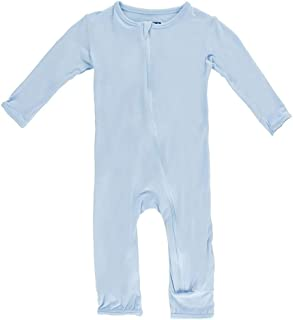 Little Boys Basic Coverall with Zipper