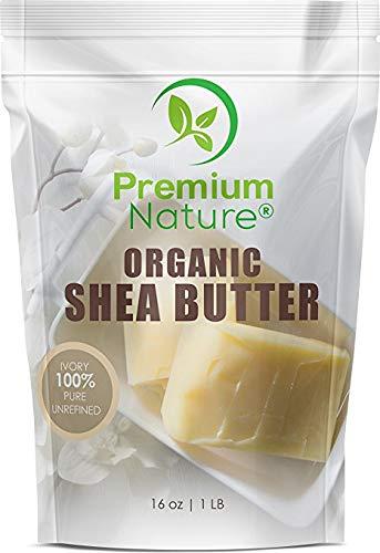 Shea Butter Unraffiniert Hautpflege Sheabutter - Premium Nature 450g Shea Butter Pur DIY Gesichtscreme Damen & Herren Pflege Body Butter Natürlich Gegen Dehnungsstreifen & Akne Narben Skin Care