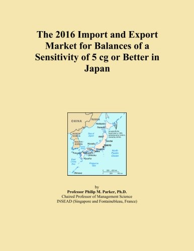 The 2016 Import and Export Market for Balances of a Sensitivity of 5 cg or Better in Japan