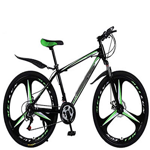 Men's And Women's Hybrid Bicycles, 21-speed-30-speed, 24-inch Wheels, Dual-disc Bicycles, Multiple Colors (Color : E, Inches : 26 inches)
