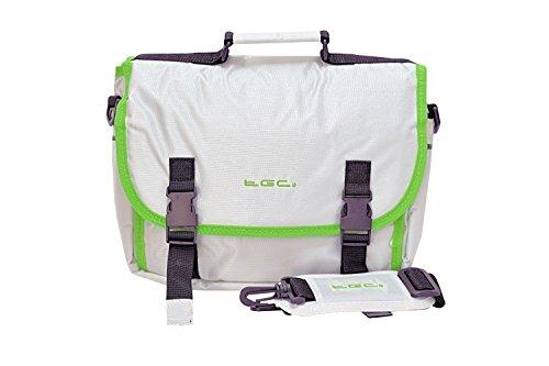 Nieuwe TGC ® Messenger Style TGC gevoerde draagtas tas voor de Nextbase Click 9 Lite Duo draagbare dvd-speler