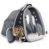 Porte-Expandable Cat Sac à dos, sac Pet Carrier Capsule Espace bulle transparente Pet Carrier pour petit chien, animal de compagnie Randonnée Voyager Sac à dos