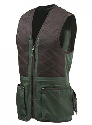 Beretta schietvest Trap Unisex Bruin-Groen Cotton Vest